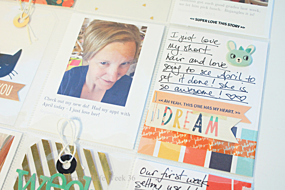 Dream journaling card