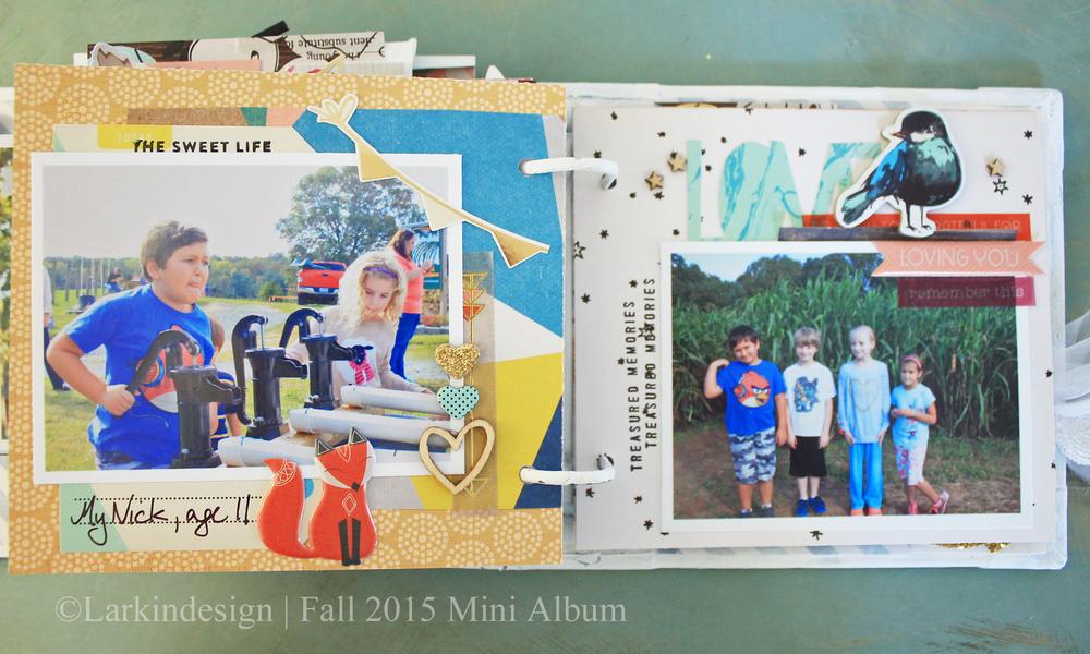 Fall Mini Album Page 11