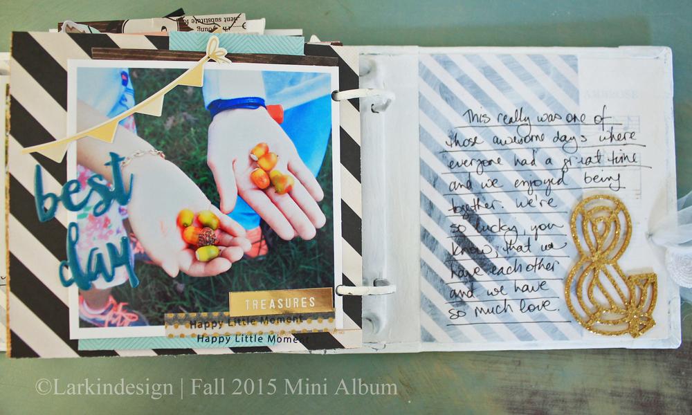Fall Mini Album Page 12