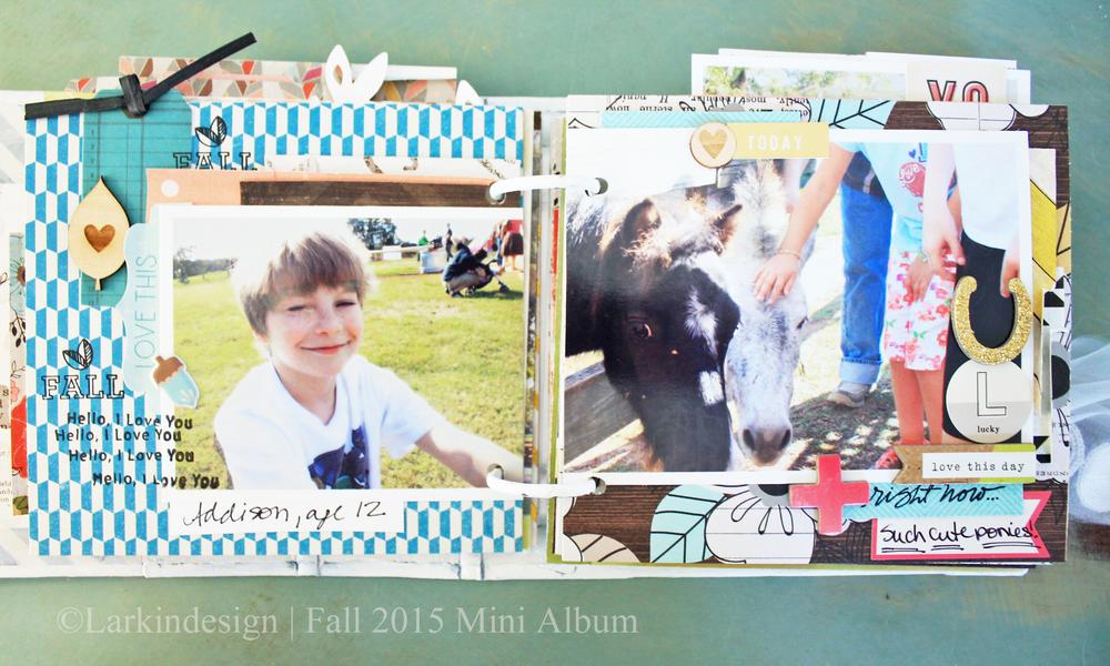 Fall Mini Album Page 5