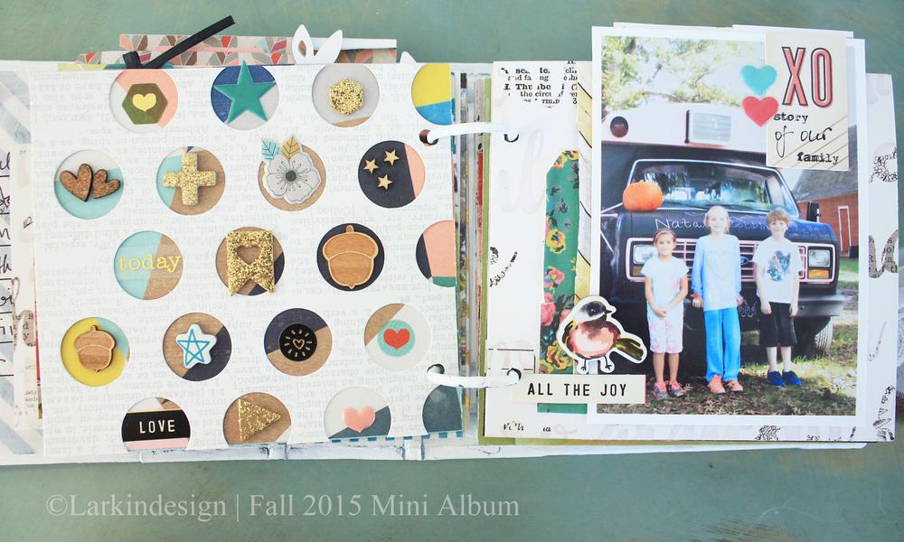 Fall Mini Album Page 6