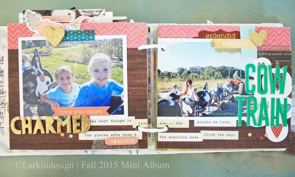 Fall Mini Album Page 8