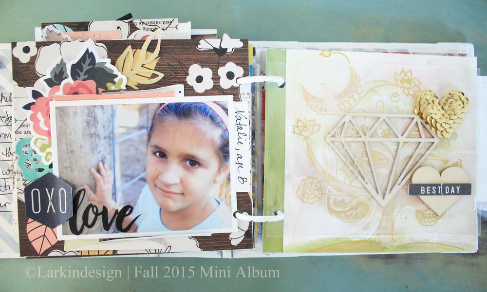 Fall Mini Album Page 9