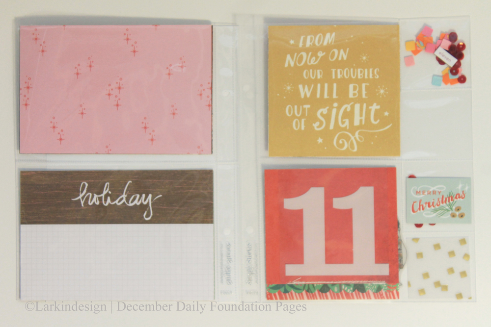 December Daily 2015 Days 11and12