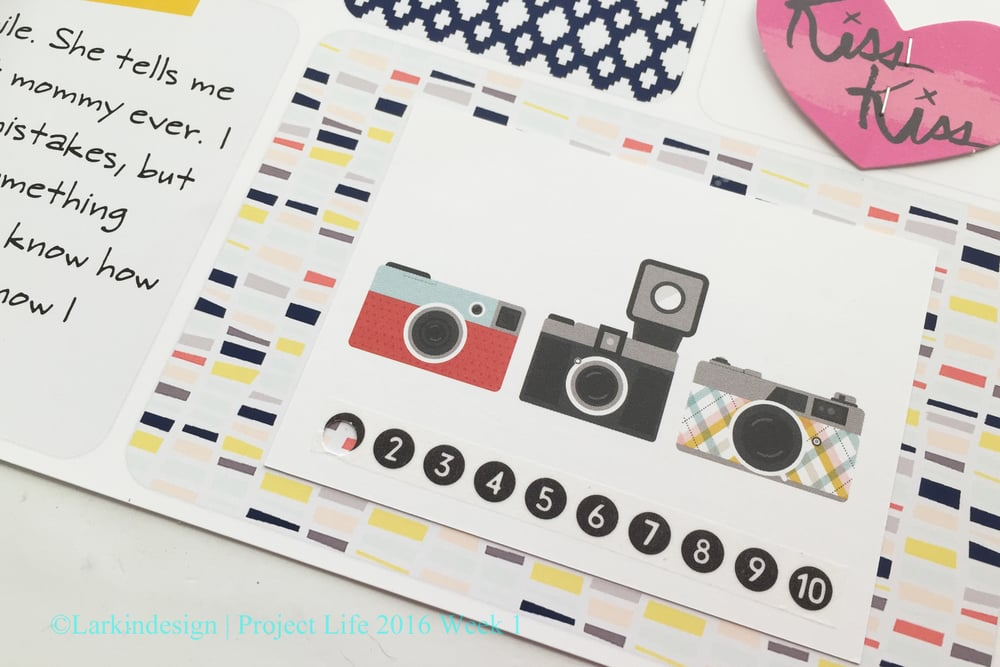 Project Life Project 52 2016 Week 1