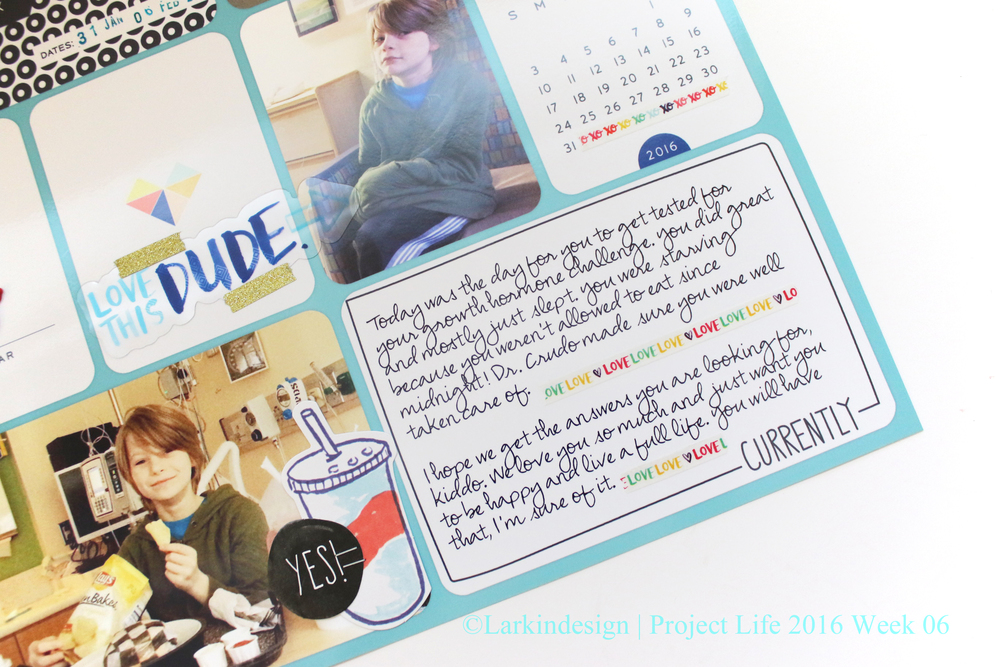 Project Life 2016 Week 06