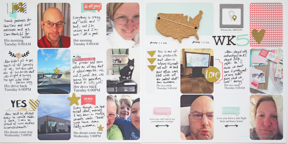 Project Life 2016 Week 5