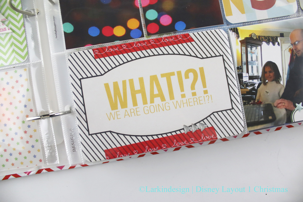Larkindesign Disney Album Layout No. 01 | Surprise!!!