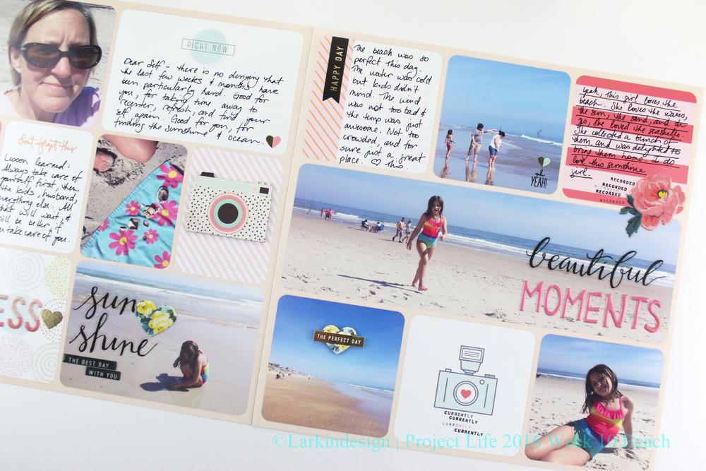 Project Life 2016 Week 10 Beach