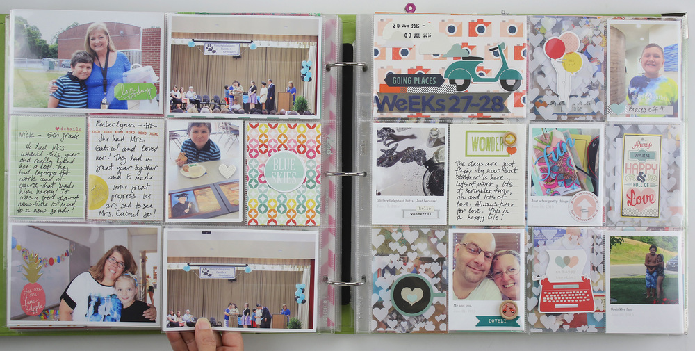 TBT Project Life 2015 | Weeks 27-30