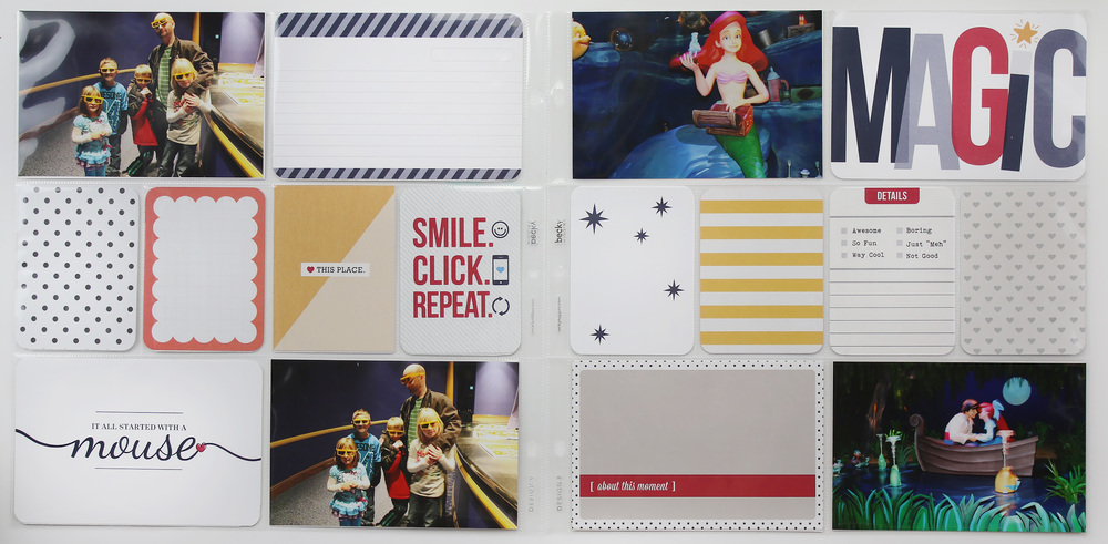 Disney Project Life Layout 08