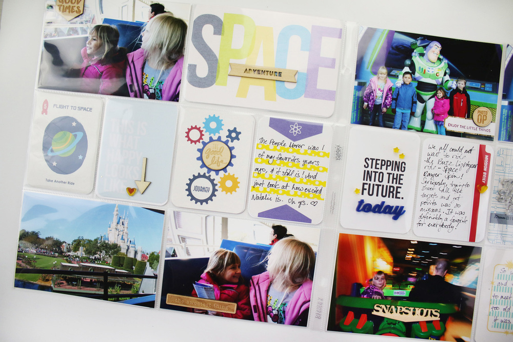 Disney Project Life Layout 5