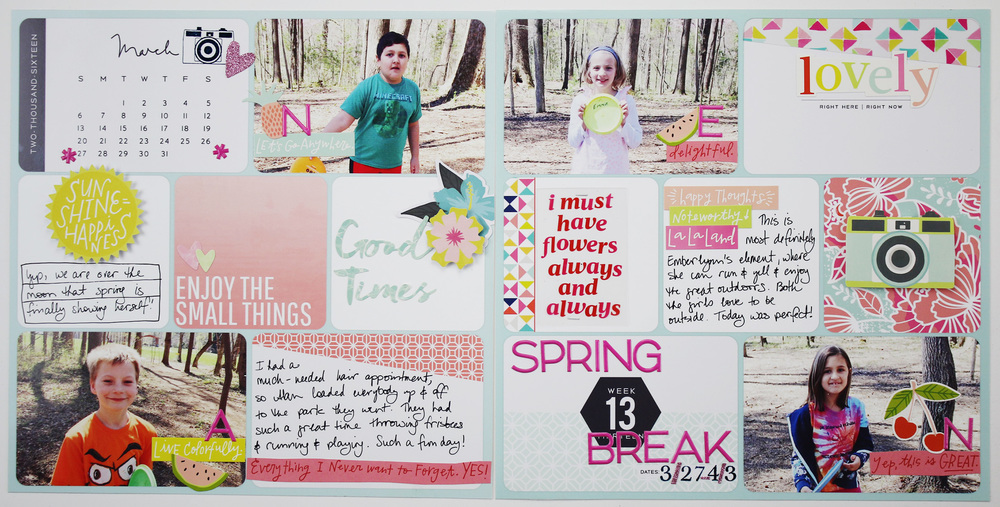 Project Life 2016 Week 13