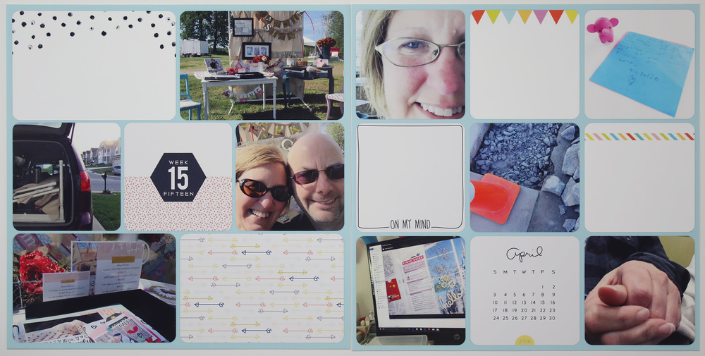 Project Life 2016 Week 15