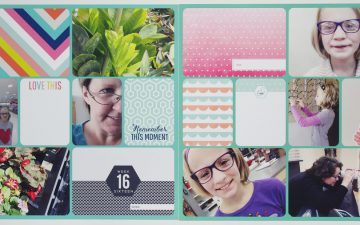 Project Life 2016 Week 16 | Gossamer Blue Kits!