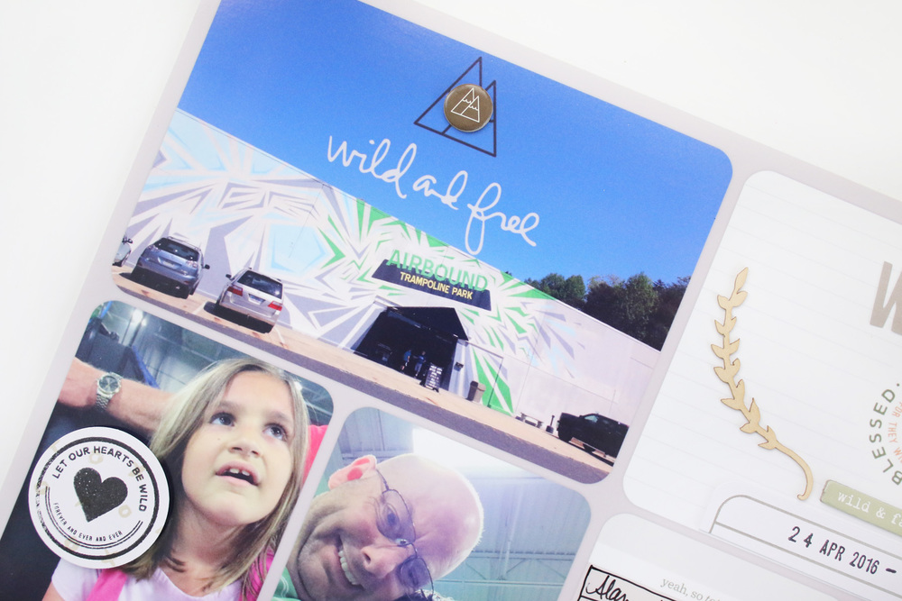 Project Life 2016 Week 17 Ali Edwards WILD Story Kit