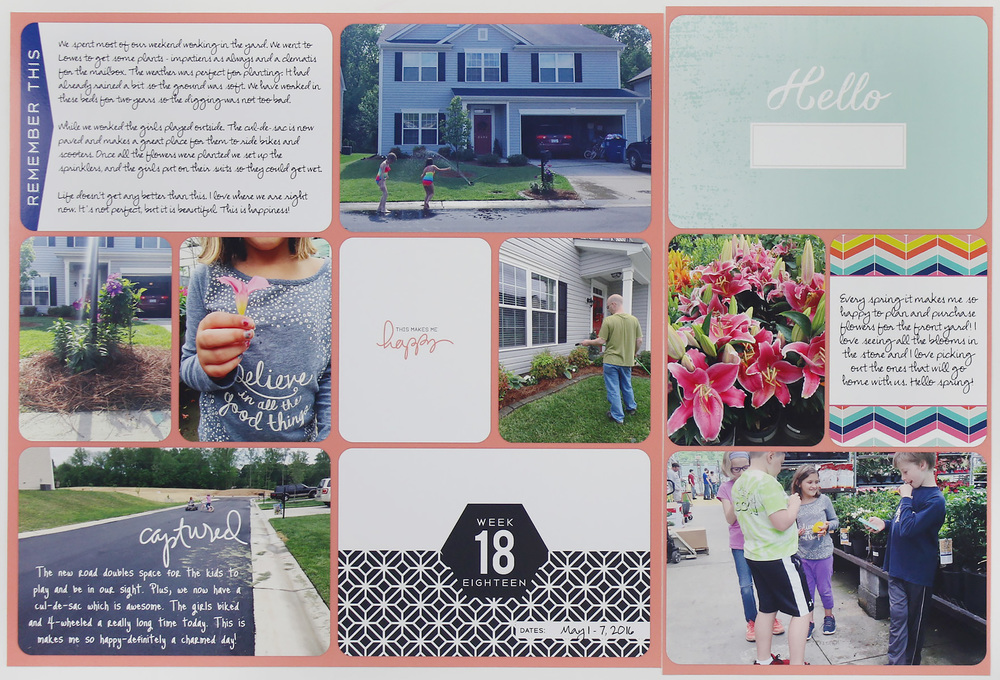 Project Life 2016 Week 18