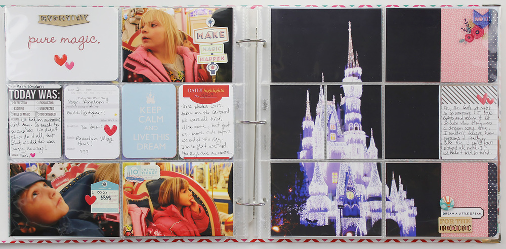 Disney Project Life Layout 09