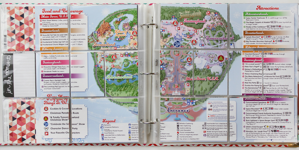 Disney Project Life Layout 10