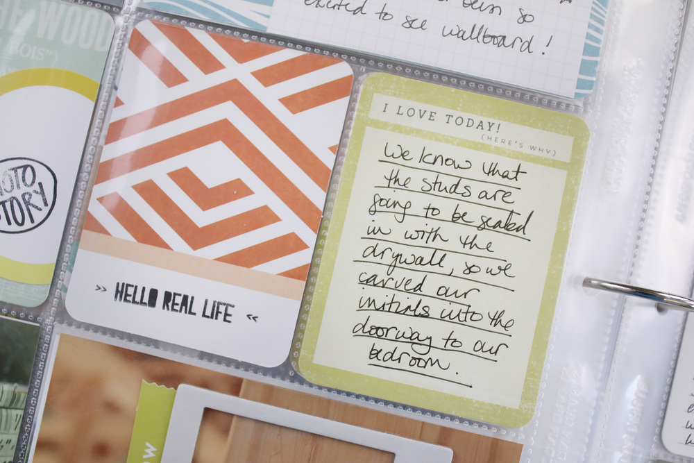 Project Life 2014 Week 22A