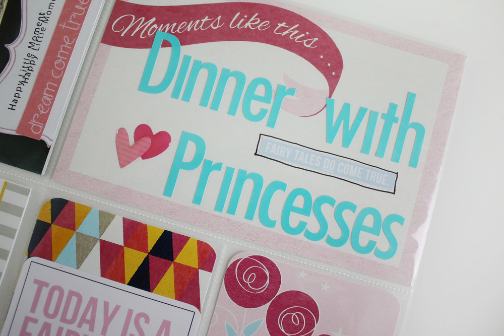 Disney Project Life Princess Dinner