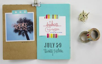Travelers Notebook Charleston Edition Part 01