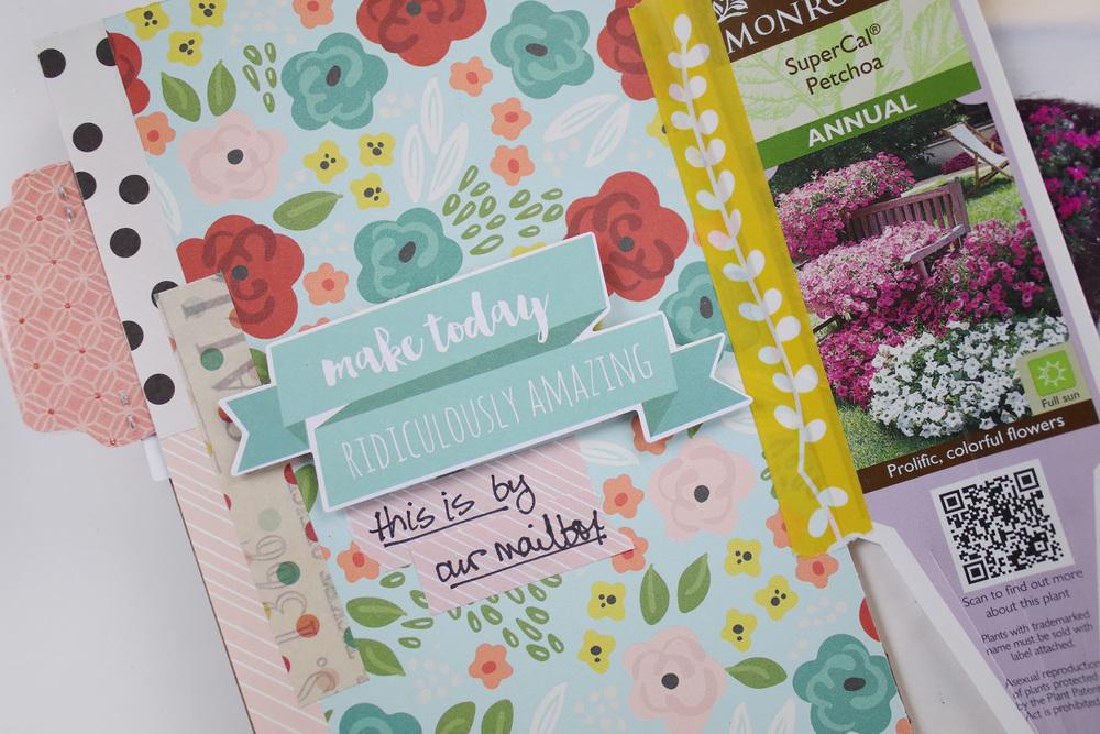 Travelers Notebook Gardeners Notebook Entry 01