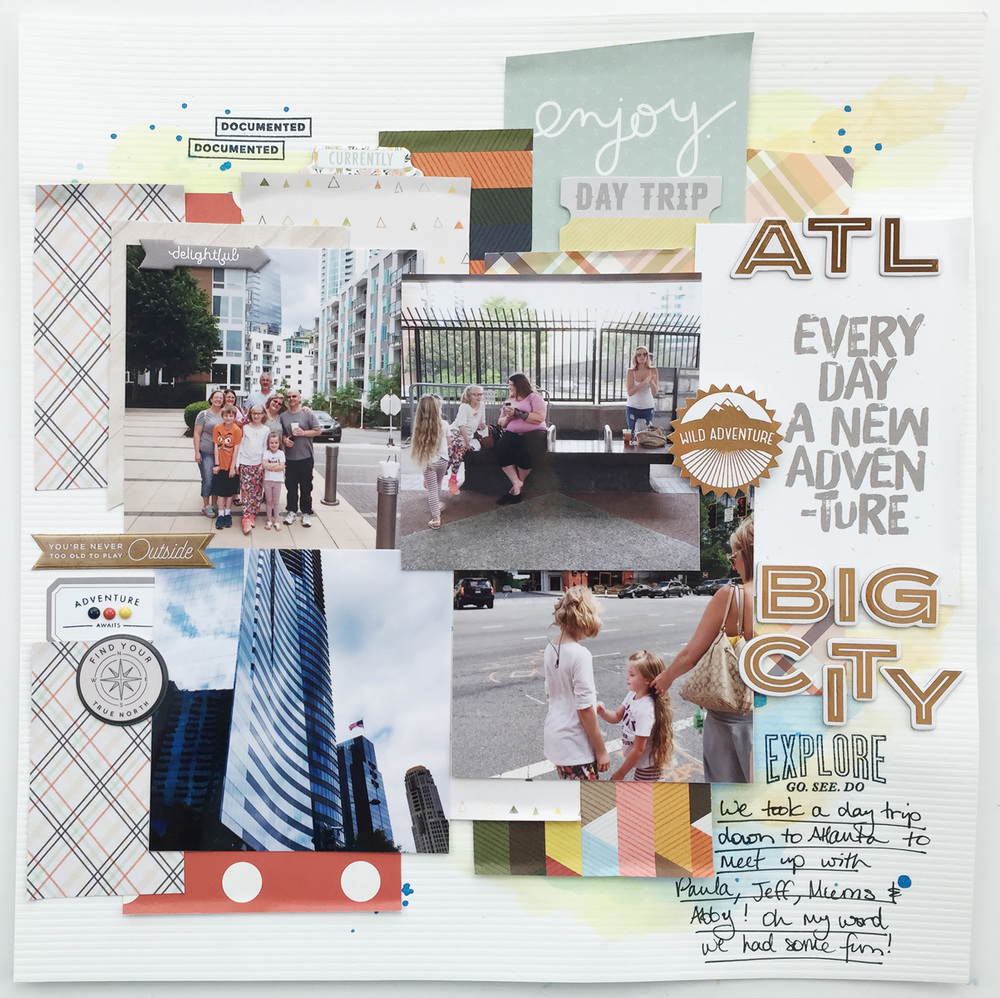 Traditional Layout ATL Big City