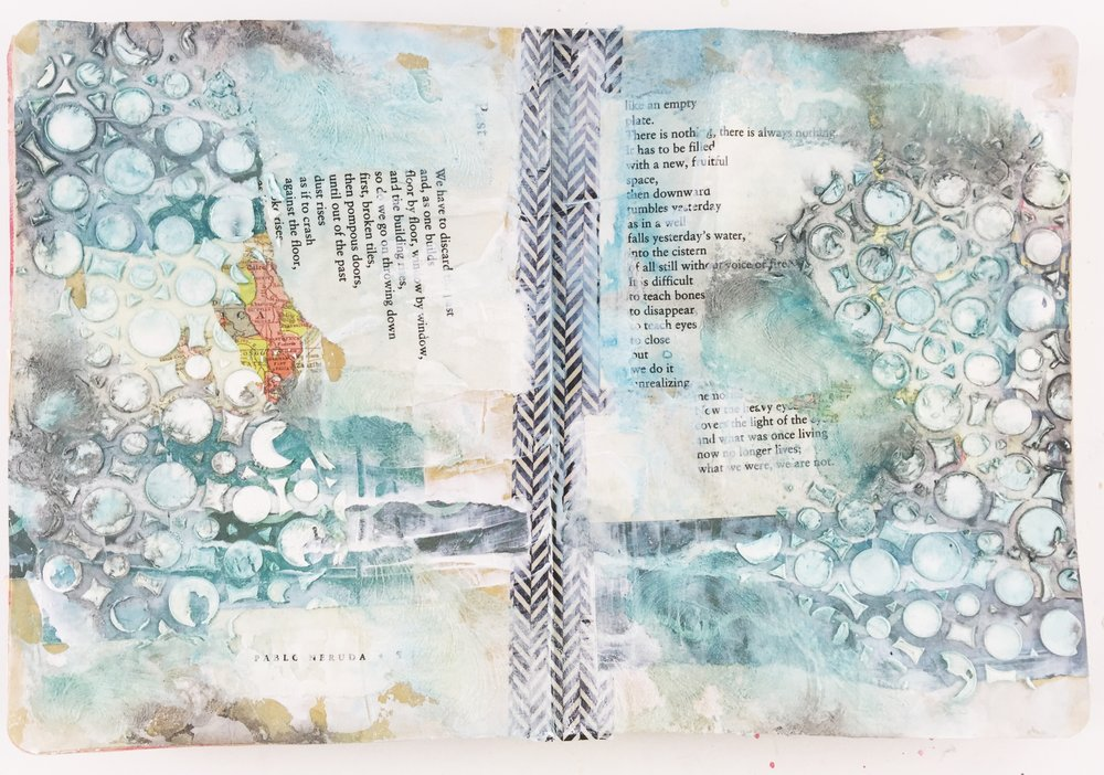 Art Journal Vol 03 Layout 02 | Past