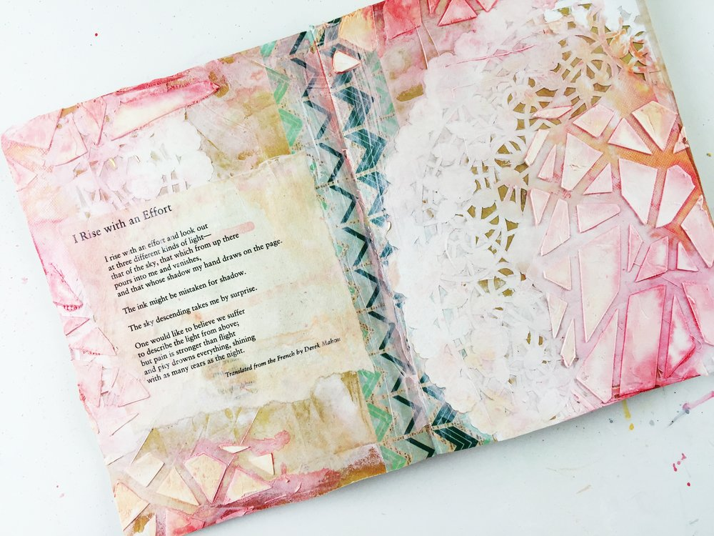 Art Journal Vol 03 Layout 01 I Rise