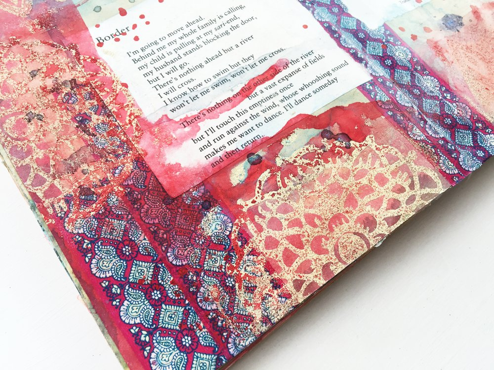 Art Journal Vol 03 No 03 | Border by Taslima Nasrin