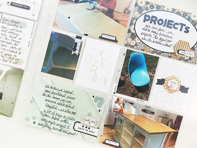 Larkindesign TBT 2014 Project Life Week 33 | Gossamer Blue September 2016 Life Pages Kit!