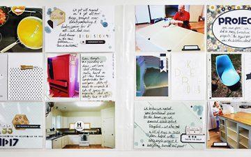 TBT 2014 Project Life Week 33 | Gossamer Blue September 2016 Life Pages Kit!