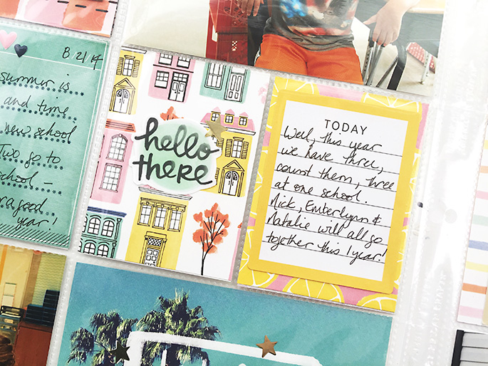 Larkindesign TBT Project Life 2014 Weeks 34 %26 35 | Amy Tangerine Finders Keepers!!!!