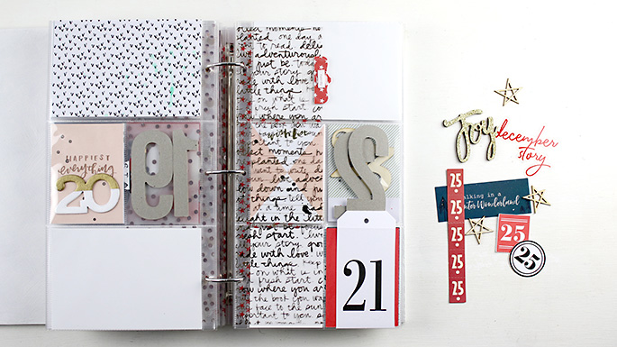 Larkindesign {December Daily 2016} Foundation Pages