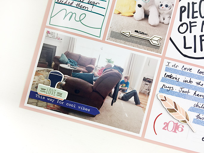 Larkindesign {Project Life 2016} Week 37 | Using Ali Edwards ME Story Kit