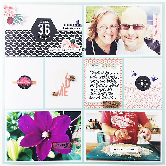 Project Life 2016 | Weeks 36 & 38 Feat. Pink Paislee Moonstruck!!!