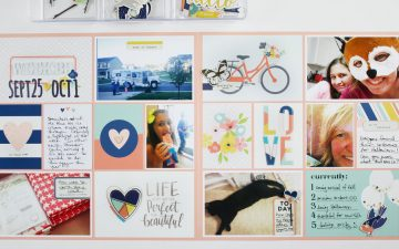 Project Life 2016 Week 39 | Simple Stories Posh Collection!!!