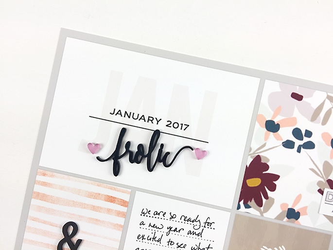 Larkindesign Project Life 2017 Introduction Layout