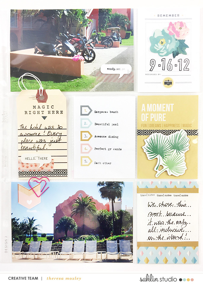Larkindesign Bermuda Honeymoon Album | Layout 01 feat. Project Mouse Beginnings!!!!Larkindesign Bermuda Honeymoon Album | Layout 01 feat. Project Mouse Beginnings!!!!