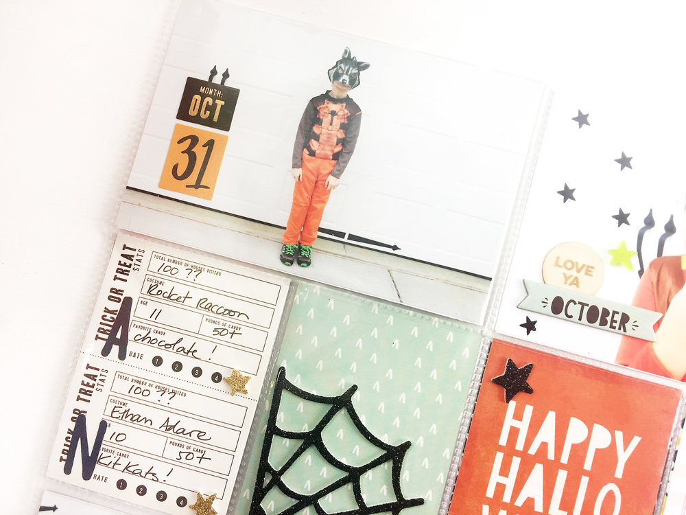Larkindesign TBT Project Life 2014 Halloween Pt. 02 | Feat. MH After Dark!Larkindesign TBT Project Life 2014 Halloween Pt. 02 | Feat. MH After Dark!