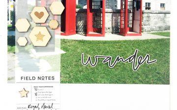 Creating Hybrid Layouts | Bermuda Honeymoon Album Layout No. 08 ft. Paislee Press Tour Guide!!!!