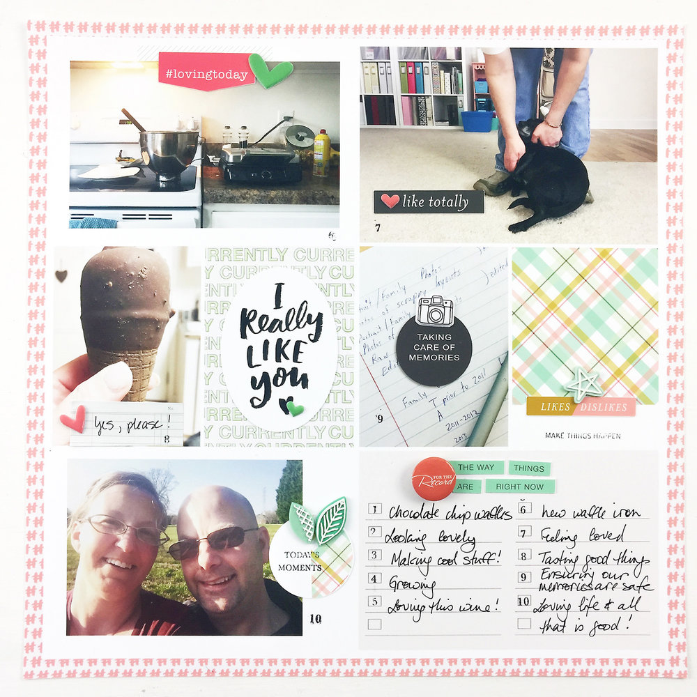 Paislee Press Guest Designer Theresa Moxley | Project Life 2017 Week 13 ft. For Like Ever KitPaislee Press Guest Designer Theresa Moxley | Project Life 2017 Week 13 ft. For Like Ever Kit