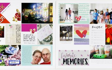 Hybrid Project Life |2017 Week 15 ft. The Lilypad Memory Pockets Monthly June Curious