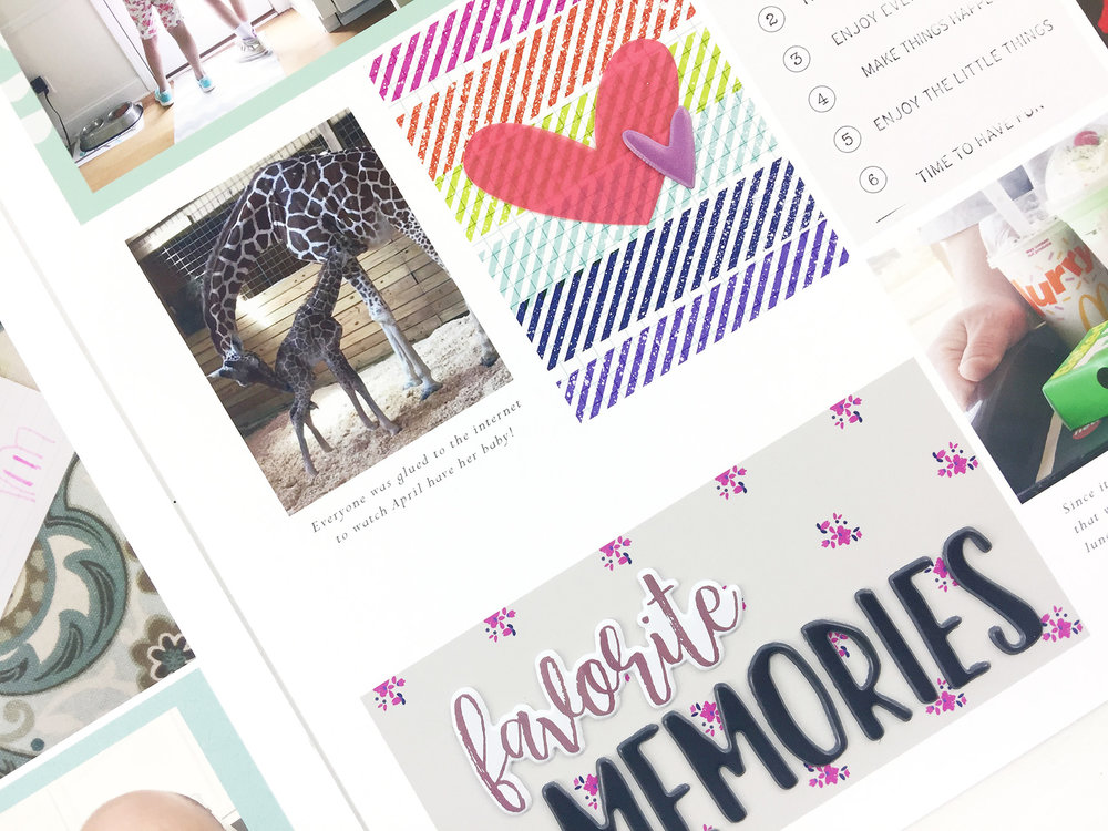 Larkindesign Hybrid Project Life |2017 Week 15 ft. The Lilypad Memory Pockets Monthly June CuriousLarkindesign Hybrid Project Life |2017 Week 15 ft. The Lilypad Memory Pockets Monthly June Curious