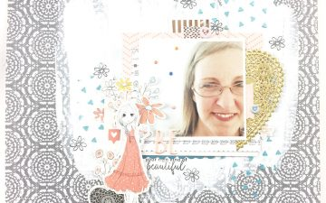 My Very First Felicity Jane Kit Willow | A 12×12 Layout BE