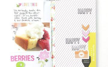 Traveler's Notebook | Favorite Things Berries & Cream ft. Gossamer Blue Kits!!