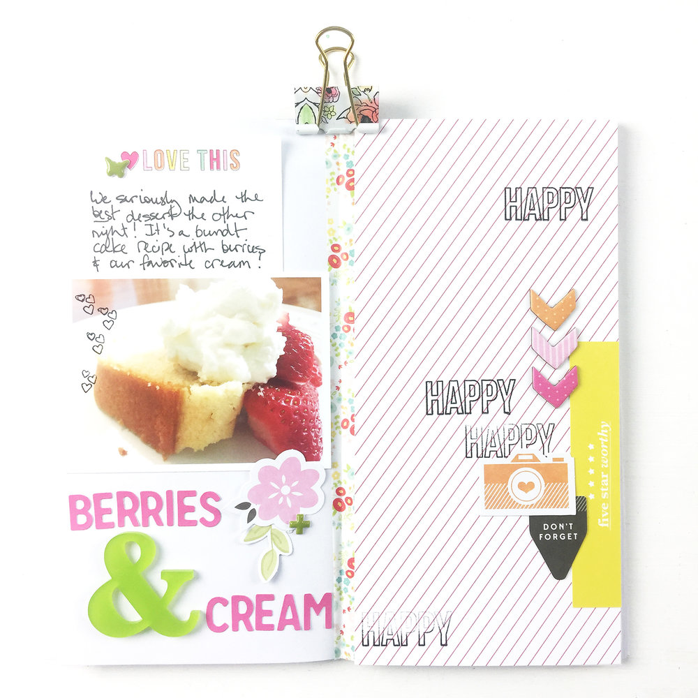 Larkindesign Traveler%27s Notebook | Favorite Things Berries %26 Cream ft. Gossamer Blue Kits!!Larkindesign Traveler%27s Notebook | Favorite Things Berries %26 Cream ft. Gossamer Blue Kits!!