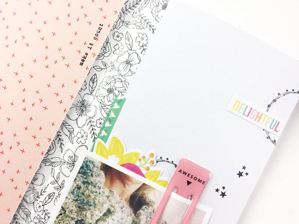 Larkindesign Traveler%27s Notebook Layout | Favorite Things Summer Edition