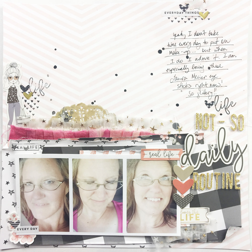 12×12 Layout Using Felicity Jane Kate | Not So Daily Routine
